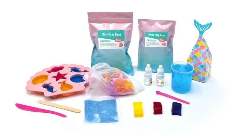 Ocean Soap Making Science DIY Kit August 2021