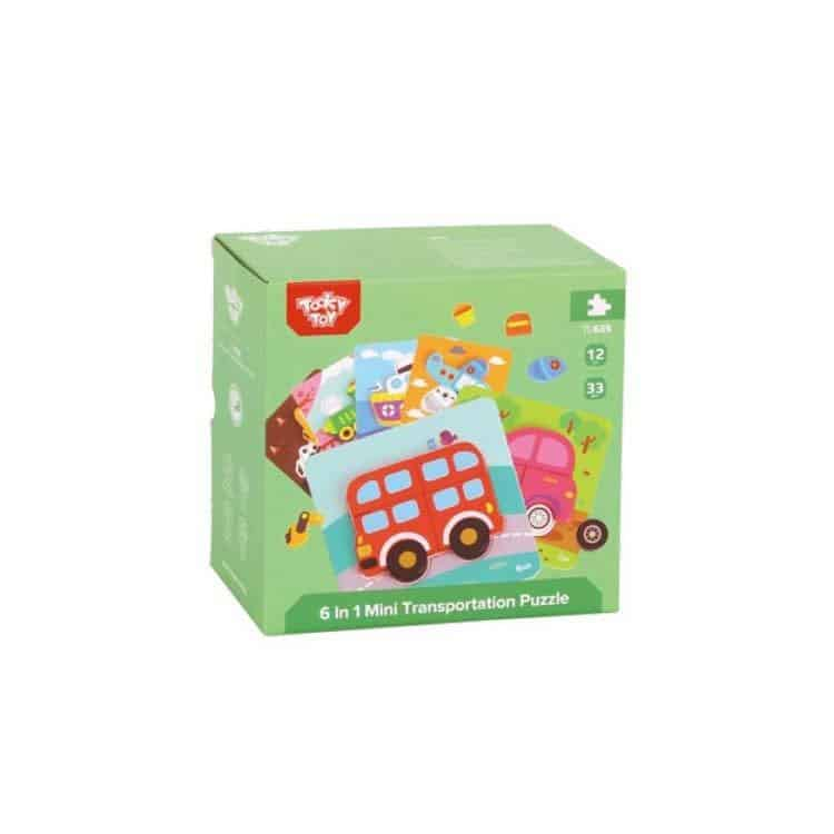 6 in 1 Mini Puzzle Tooky Toy