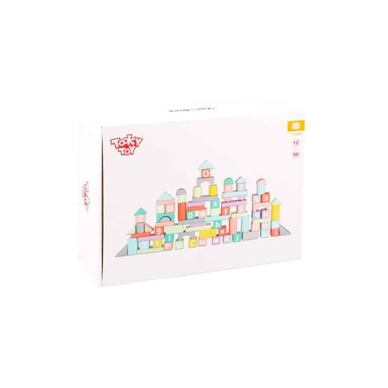 90pcs Block Tooky Toy