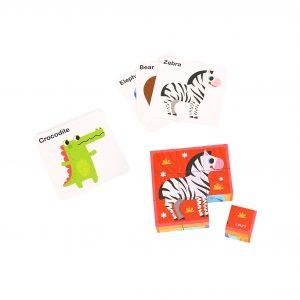 Animal Block Puzzle Tooky Toy