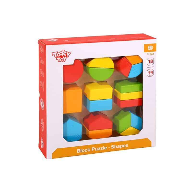 Block Puzzle - Shapes Tooky Toy