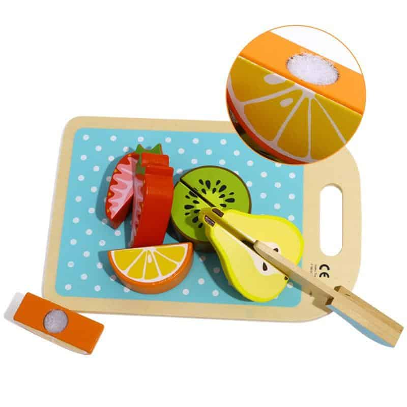 Cutting Vegetables/Fruits Set Tooky Toy