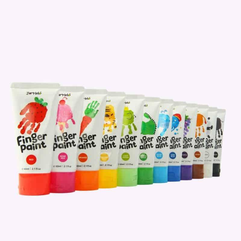 Finger Paint Colours Set JarMelo