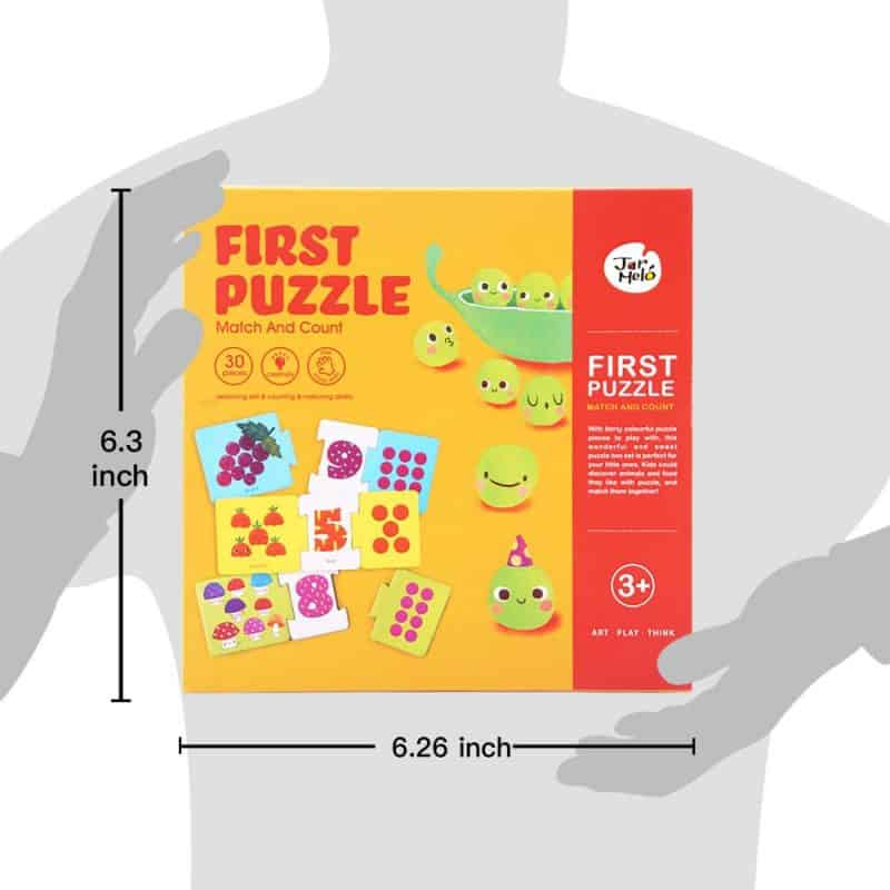 First Puzzle - Match and Count JarMelo