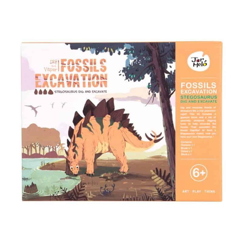Fossils Exavation Kit JarMelo