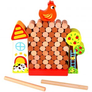 Jenga Farm Tooky Toy