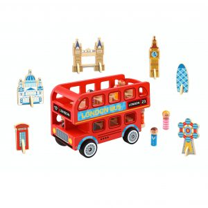 London Bus Tooky Toy