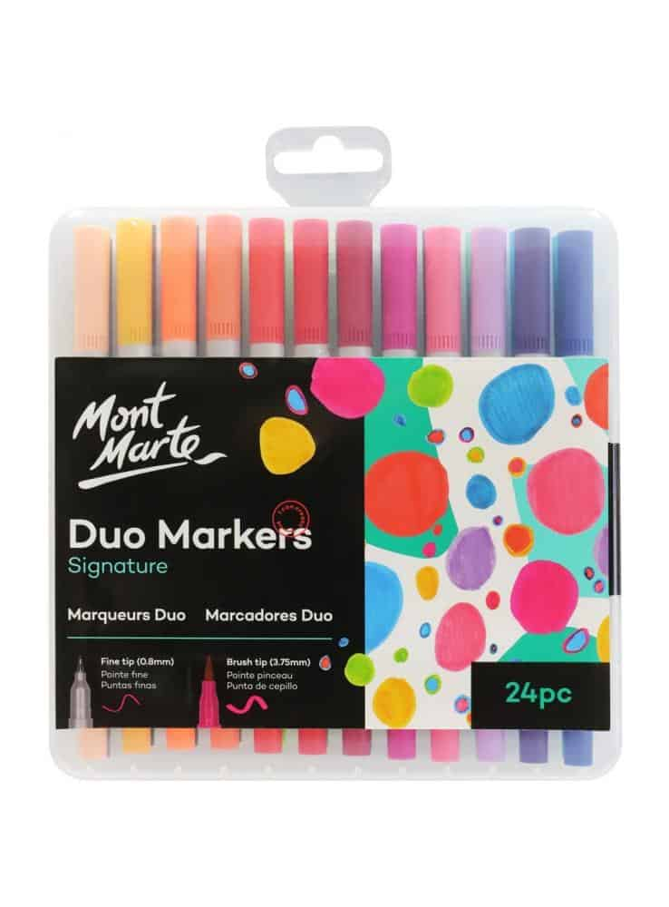 Signature Duo Markers 24pc September 2021