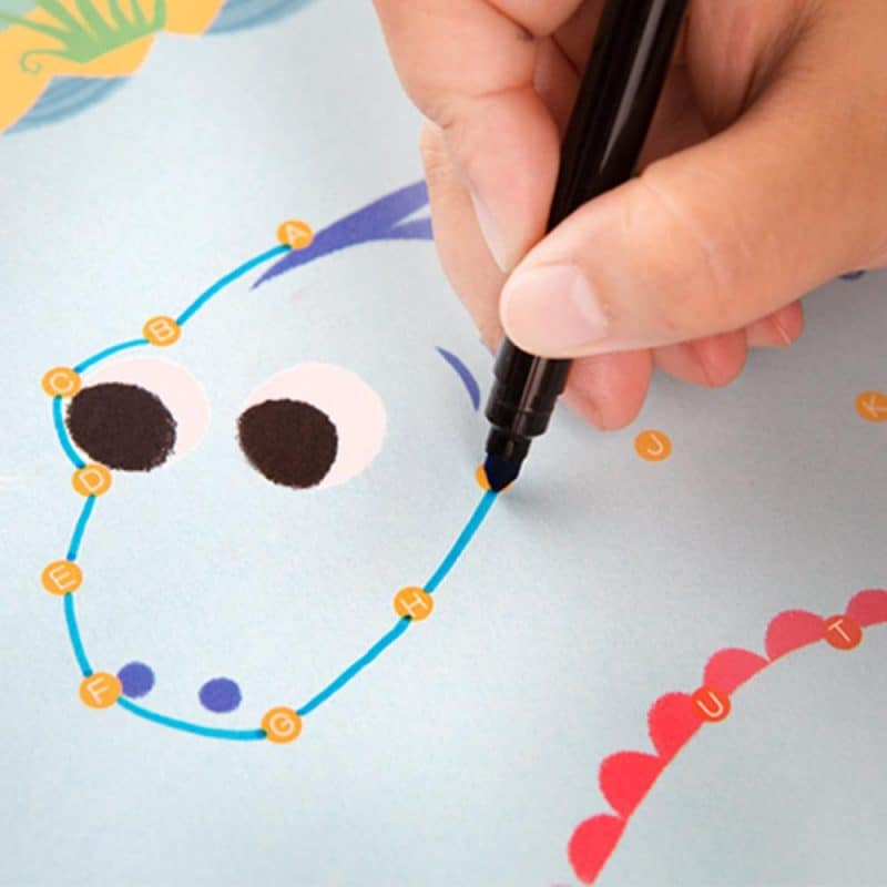 My First Dot to Dot Drawing Book JarMelo