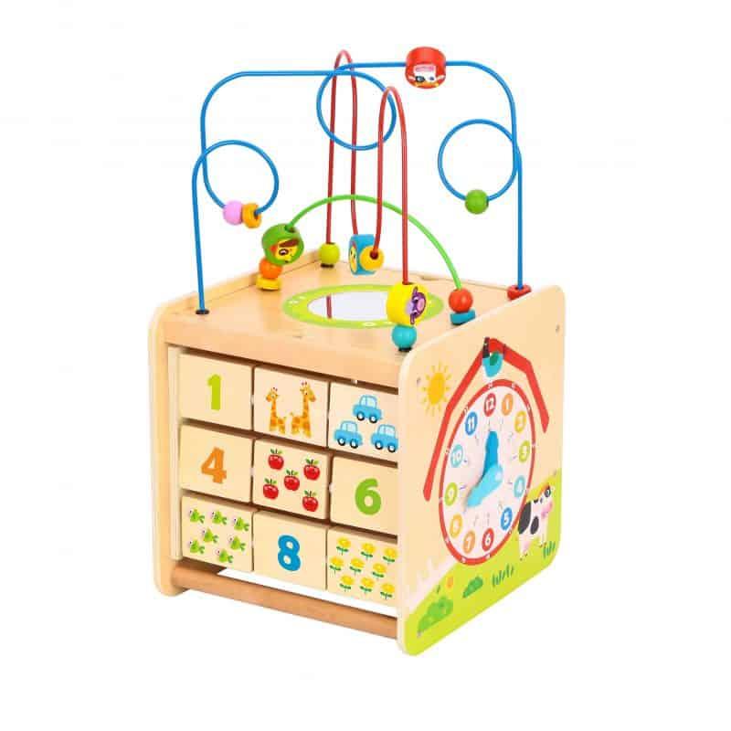 Play Cube Centre - Farm Tooky Toy