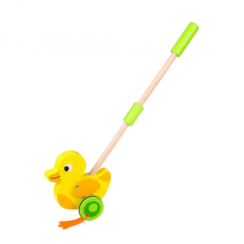 Push Along - Duck Tooky Toy