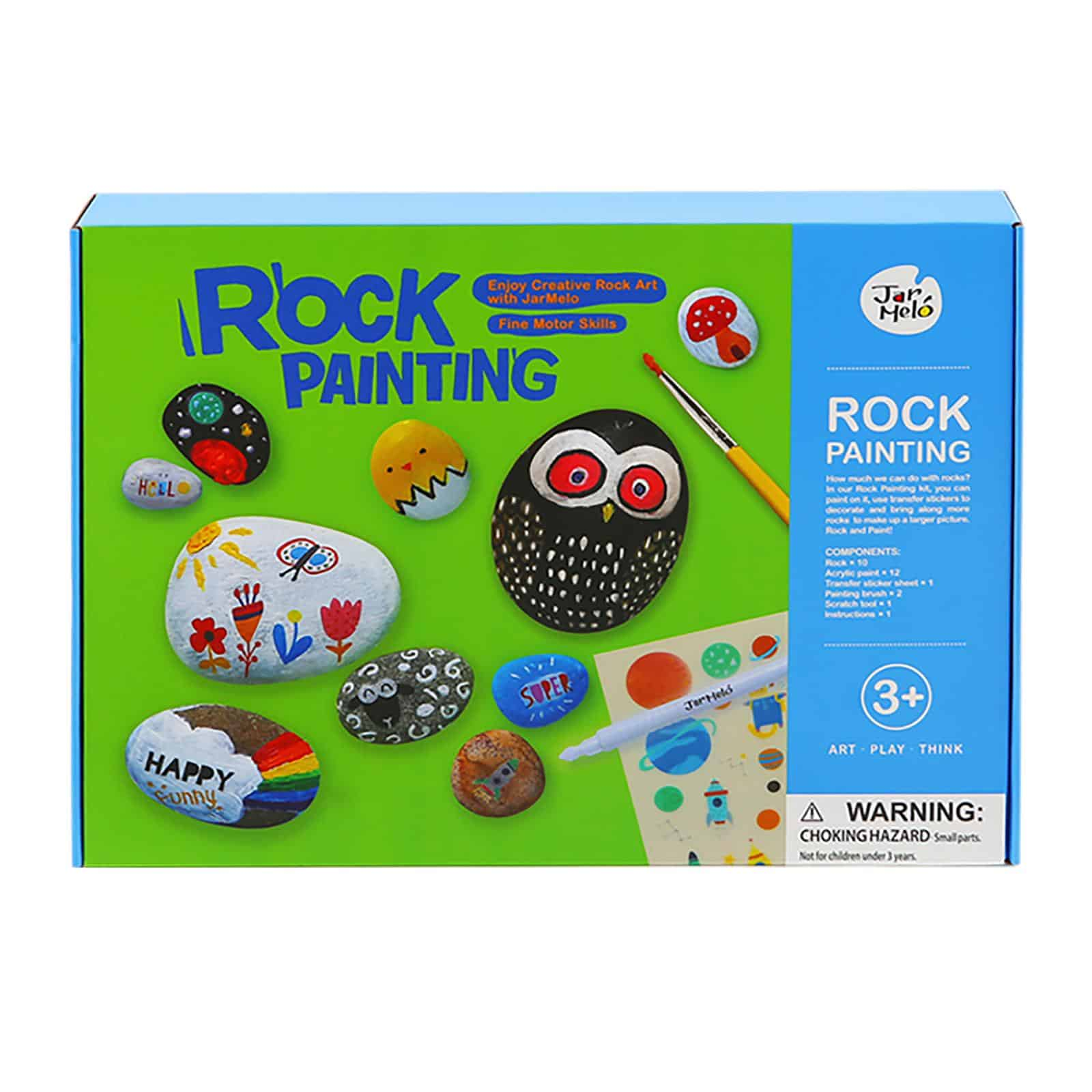 Rock Painting JarMelo