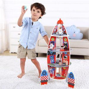Rocket Ship Tooky Toy