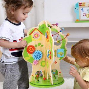 Rotating Activity Tree Tooky Toy