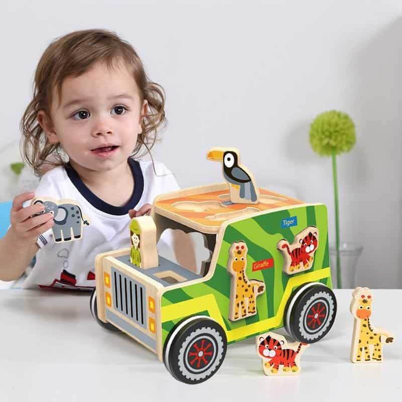 Safari Jeep Tooky Toy