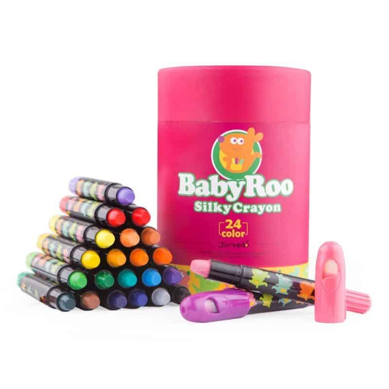 Silky Crayon Baby Roo JarMelo