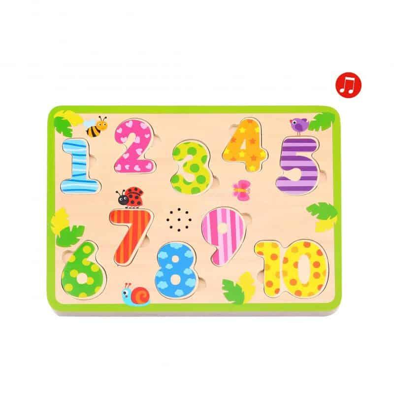 Sound Puzzle - Animals Tooky Toy