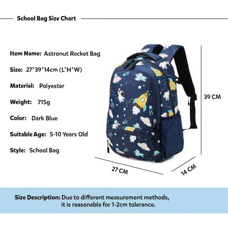 UFO Kids School Backpack Trio Kids Singapore