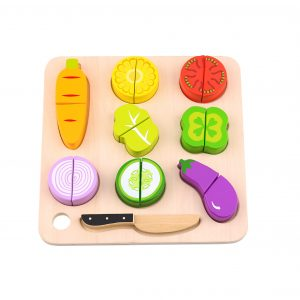 Wooden Play Cutting Tooky Toy