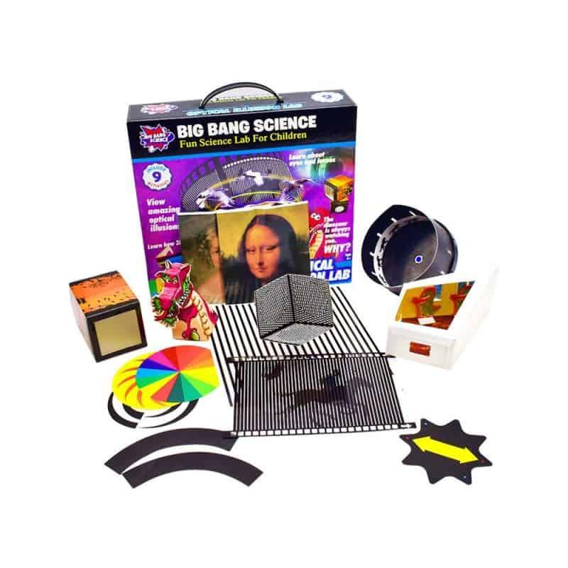 Magic Tricks Optical Illusion Science Kit September 2021